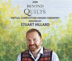 Stuart Hillard to present the winner of the Virtual Quilt competition
